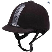 Harry Hall Legend (Adult) Riding Hat - PAS015 - Size: 7 - Colour: Black