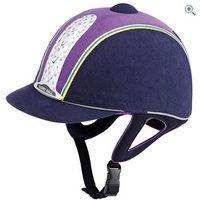 Harry Hall Junior Legend Plus Riding Hat - PAS015 - Size: 61-2 - Colour: Navy