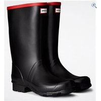 Hunter Argyll Short Wellington Boots - Size: 10 - Colour: Black