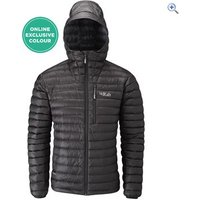 Rab Microlight Alpine Mens Jacket - Size: L - Colour: BLACK SHARK