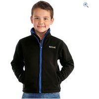 Regatta Tato III Kids Softshell Jacket - Size: 32 - Colour: Black