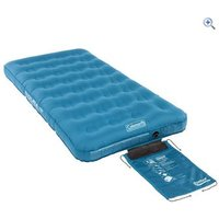 Coleman DuraRest Single Airbed - Colour: Blue