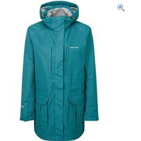 Craghoppers Madigan Long Womens Waterproof Jacket - Size: 16 - Colour: PEACOCK