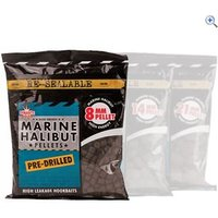Dynamite Baits Marine Halibut Pellets, Pre-Drilled 8mm (350g bag)