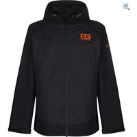 Bear Grylls by Craghoppers Bear Kids Core Waterproof Jacket - Size: 13 - Colour: Black Pepper