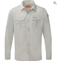 Craghoppers Nosilife Adventure Long Sleeved Shirt - Size: S - Colour: Parchment
