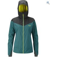 Rab Womens Rampage Jacket - Size: 12 - Colour: DARK JADE