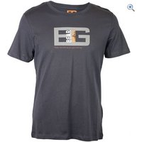 Bear Grylls by Craghoppers Mens Bear Printed Tee - Size: M - Colour: Black Pepper