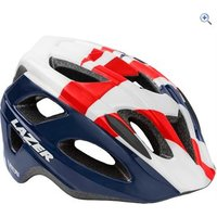Lazer PNut Helmet (Kids) - Colour: RED-WHITE-BLUE