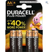 Duracell Plus Power AA Batteries (4 Pack)