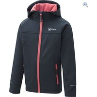 Hi Gear Switch Childrens Softshell Hoody - Size: 2 - Colour: BLCK IRS- CORAL