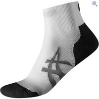 Asics Cushioning Socks (2 Pair Pack) - Size: S - Colour: White And Black