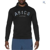 Asics Mens Camou Logo Hoodie - Size: XL - Colour: Black