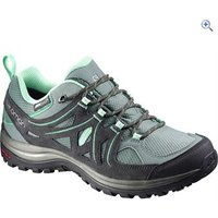 Salomon Ellipse 2 CS WP Womens Hiking Shoe - Size: 4 - Colour: GREY-GREEN
