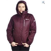 Regatta Lucymay Womens Waterproof Jacket - Size: 10 - Colour: DARK BURGANDY