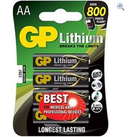 GP Batteries Lithium Batteries (2 x AA)