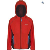 Regatta Kids Whinfell II Fleece - Size: 34 - Colour: AMBER GLOW