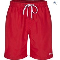 Regatta Mens Mawson Swim Shorts - Size: L - Colour: Pepper Red