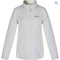 Regatta Womens Kerria Fleece Jacket - Size: 26 - Colour: LIGHT VANILLA