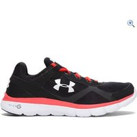 Under Armour Mens UA Micro G Velocity RN Running Shoes - Size: 7.5 - Colour: Black / Red