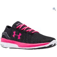 Under Armour Womens UA SpeedForm Turbulence RF Running Shoes - Size: 5.5 - Colour: Black / Pink