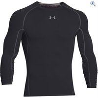 Under Armour Mens UA HeatGear Armour Long Sleeve Compression Shirt - Size: L - Colour: Black