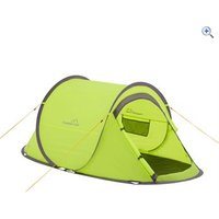 Freedom Trail Pitch and Go Pop-Up Tent - Colour: Lime