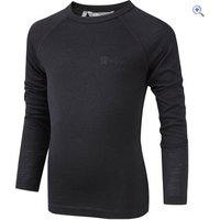 Hi Gear Kids Merino Long-Sleeved Top - Size: 22 - Colour: Black
