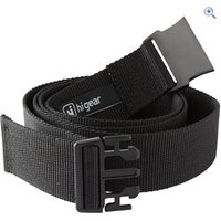 Hi Gear Plastic Buckle Belt - Size: M-L - Colour: Black