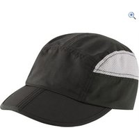 Hi Gear Foldaway Packable Cap - Colour: Black