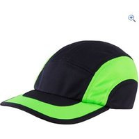 Hi Gear Mesh Exercise Cap - Size: L-XL - Colour: BLACK FLURO GRN