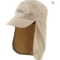 North Ridge Explorer Roll Side Hat - Size: S-M - Colour: Natural