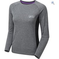 North Ridge Womens Resistance Long Sleeve Baselayer - Size: 8 - Colour: PHANTOM