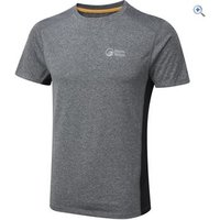 North Ridge Mens Resistance Short Sleeve Baselayer - Size: XL - Colour: PHANTOM