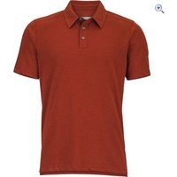 Marmot Wallace Polo Short Sleeved Tee - Size: S - Colour: TRUE REDSTONE