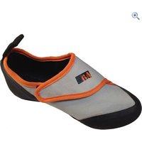 EB 6A Speedy Kids Climbing Shoe - Size: 35 - Colour: GRIS-ORANGE