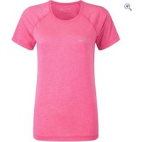 Ronhill Vizion Motion S/S Womens Tee - Size: 8 - Colour: Pink