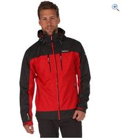 Regatta Mens Calderdale II Waterproof Jacket - Size: L - Colour: PEPPER-ASH