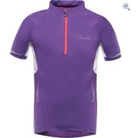 Dare2b Kids Protege Cycle Jersey - Size: 11-12 - Colour: ROYAL PURPLE