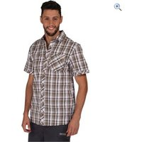 Regatta Deakin Mens Short-Sleeved Shirt - Size: L - Colour: FAUNA