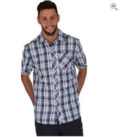 Regatta Deakin Mens Short-Sleeved Shirt - Size: XXL - Colour: Navy