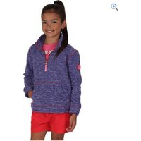Regatta Kids Berty Fleece - Size: 5-6 - Colour: PEONY MARL