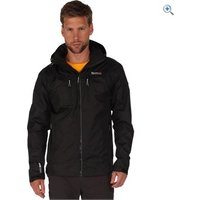 Regatta Mens Calderdale II Waterproof Jacket - Size: S - Colour: Black