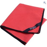OEX Microfibre Trekking Hand Towel - Colour: Red