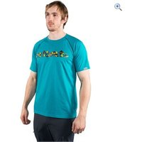 Rab Mens Route Tee - Size: L - Colour: TASMAN