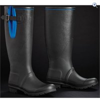 Harry Hall Brinsworth Wellies - Size: 4 - Colour: Black / Blue