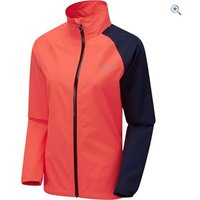 Zucci Womens 2.5 Waterproof Cycling Jacket - Size: 16 - Colour: IRIS-FLURO PINK