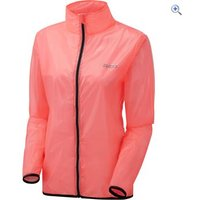 Zucci Womens Packaway Jacket - Size: 12 - Colour: FLURO PINK