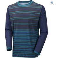 Zucci Mens MTB Long Sleeve Jersey - Size: S - Colour: Blue