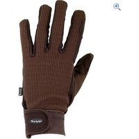 Toggi Salisbury Everyday Riding Glove - Size: M - Colour: Chocolate Brown